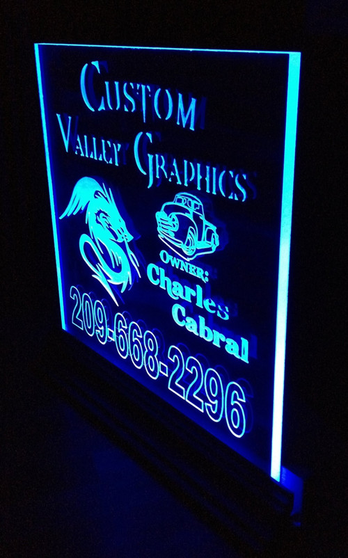 Led Edge Lit Custom Signs Shenzhen Union Opto